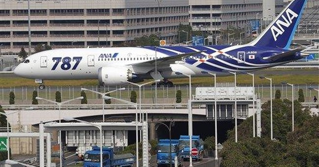 First Boeing 787 lands in Japan