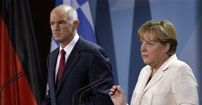 Merkel says Greek bailout terms may be changed