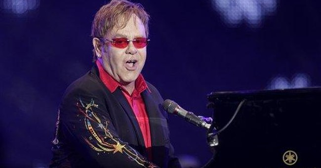 Elton John starts 3-year Las Vegas run at Caesars