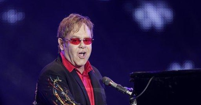 Elton John starts 3-year Las Vegas run at Caesars