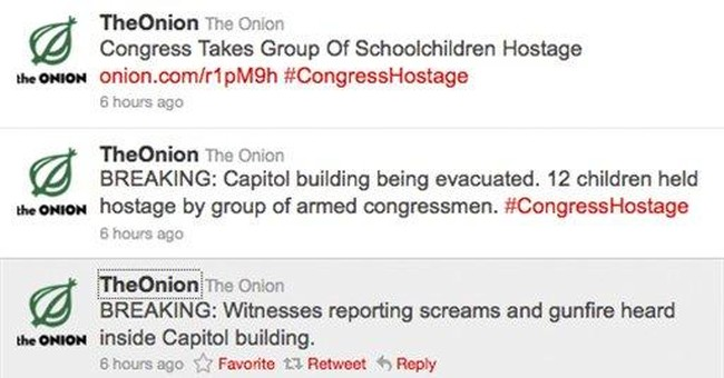 Capitol Police react to Onion satire