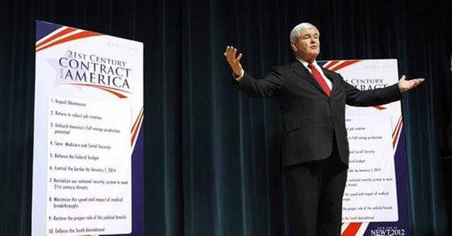 Gingrich calls for changes in taxes, health care