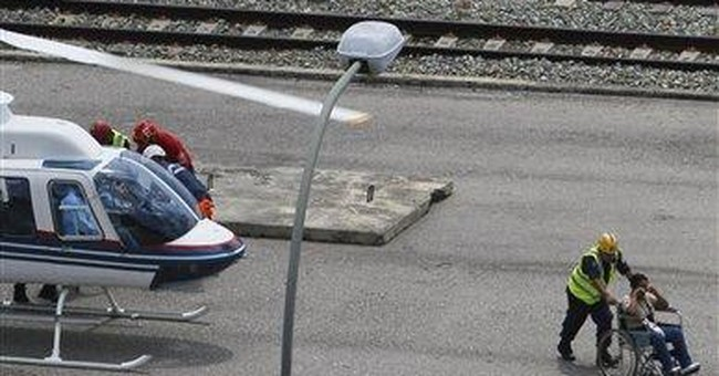 1 dead, about 30 hurt in Venezuela train crash
