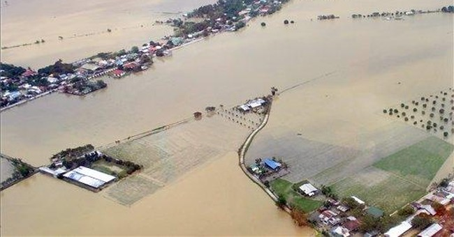2nd typhoon in week lashes rain-soaked Philippines