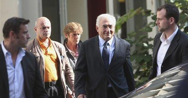 Strauss-Kahn, French accuser meet face-to-face