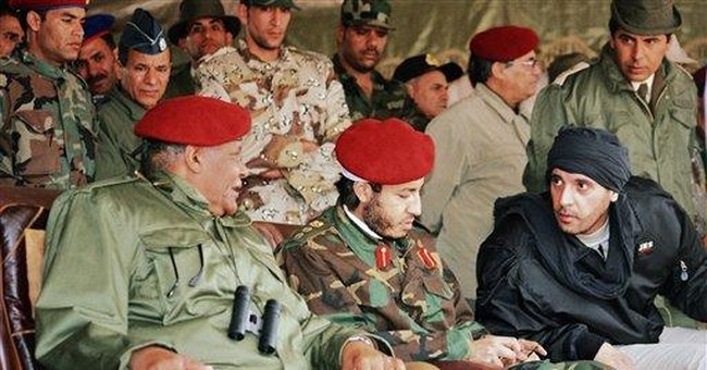 Another Gadhafi son on Interpol's most-wanted list