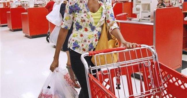 Michelle Obama shops at Washington-area Target