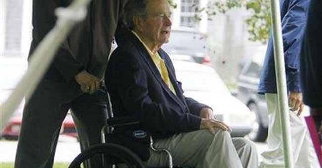 Barbara Bush's summer town honors her with garden