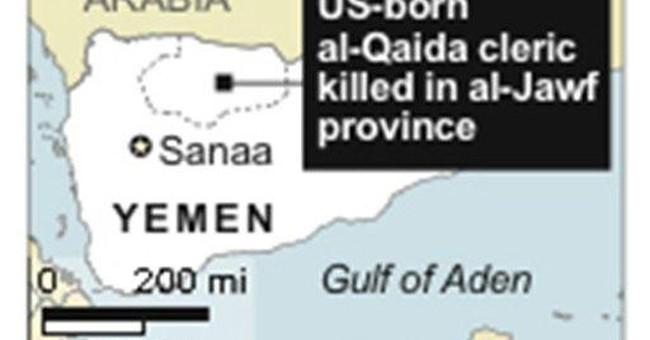 Report: Al-Qaida's Yemen chiefs still menace US