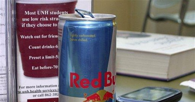 UNH buzzing about energy drink sales ban