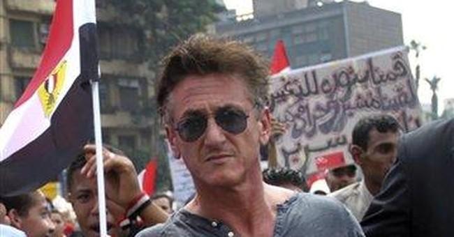 Actor-activist Sean Penn visits post-Gadhafi Libya