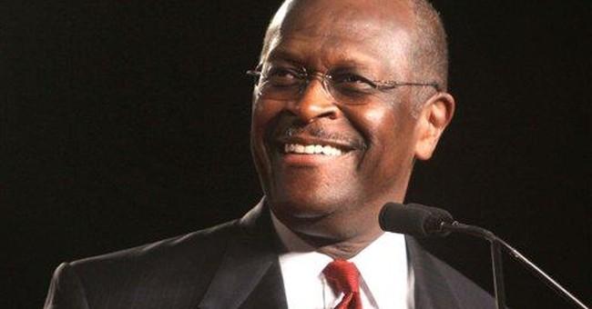 Herman Cain on Romney: Nice hair