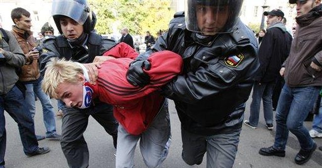 40 detained during Moscow gay rights rally