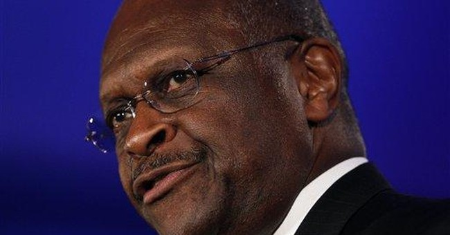 Cain says he should have spoken up for gay soldier