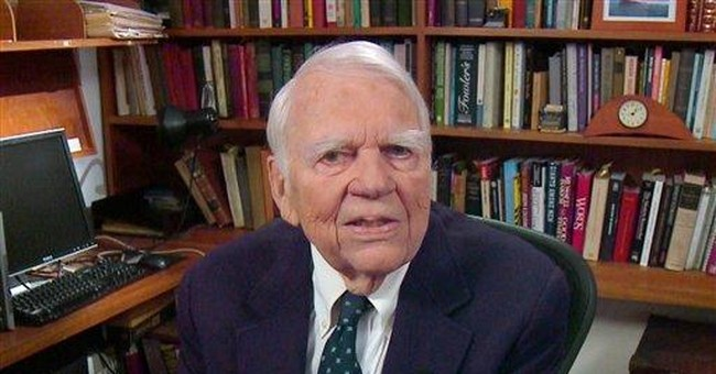 Andy Rooney ends '60 Minutes' run of 33 years