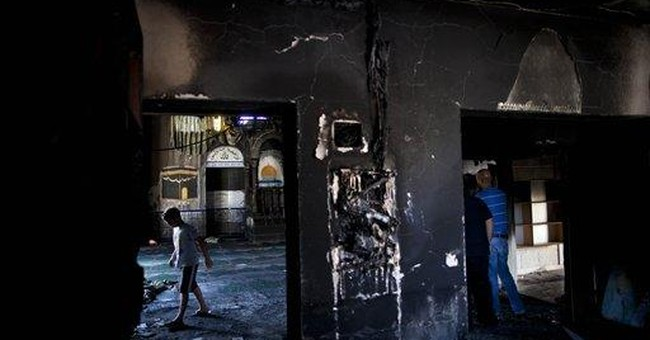Radical Jews suspected of burning mosque in Israel
