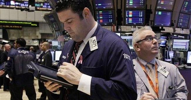Stocks sink, pushing S&P to edge of bear market