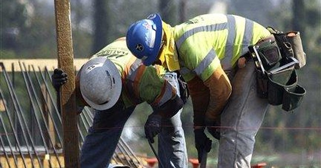 Construction spending up but pace is still weak