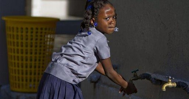 Haiti pres: Thousands will go to school for free