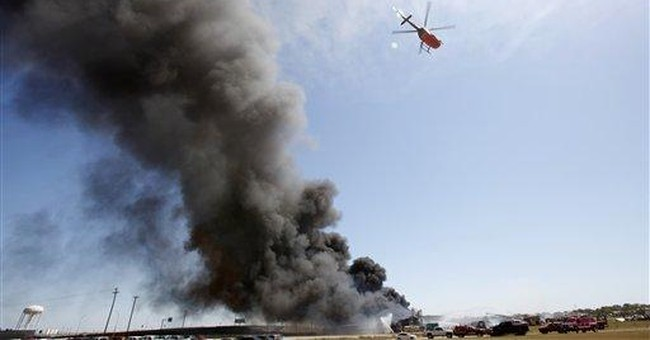 Chemical mixing sparks massive Texas plant fire