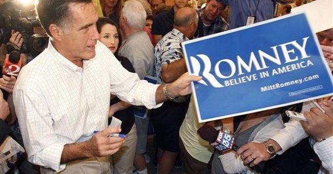 "Romney warns FL seniors about ""Perry scheme"""