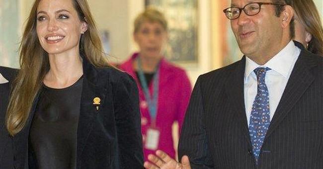 UN: Jolie visiting Libya in personal capacity