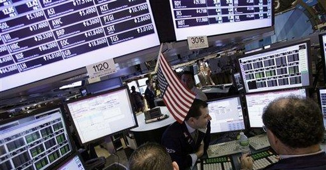 Late surge erases earlier losses on Wall Street