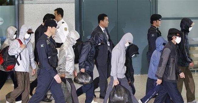 9 North Korean defectors arrive in South Korea