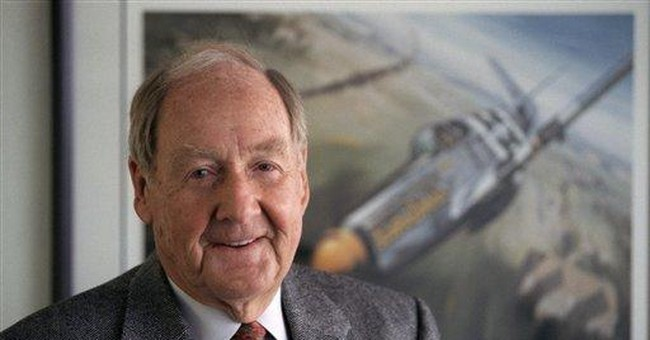 Kenneth Dahlberg, WWII ace, Watergate figure, dies