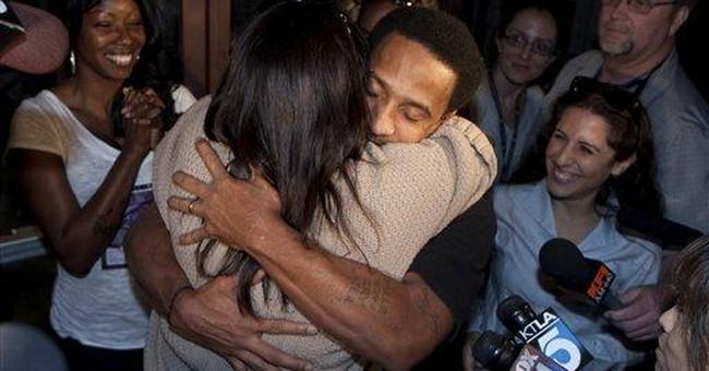 Man released after murder conviction overturned