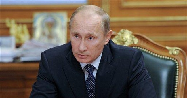 Spokesman: Putin's dive treasure find was staged
