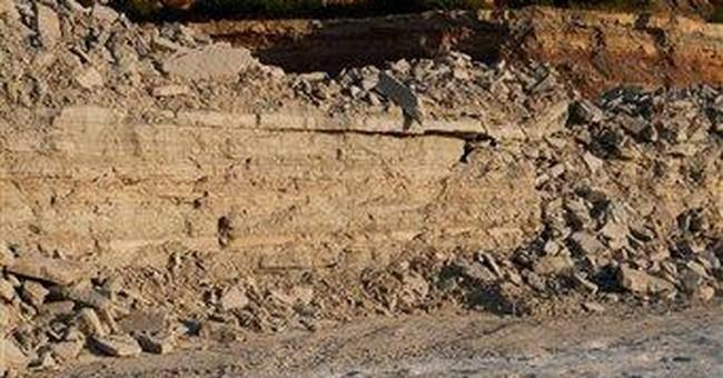 New dinosaur tracks found in southwestern Arkansas