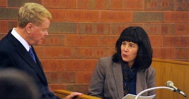 Ex-wife testifies in Conn. hostage-arson case