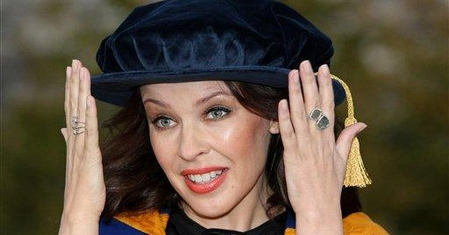 Doctor Kylie: Minogue honored for cancer work
