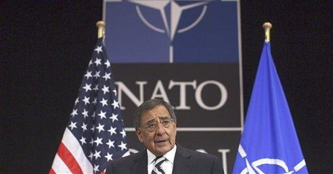 Panetta defends NATO's Libya mission