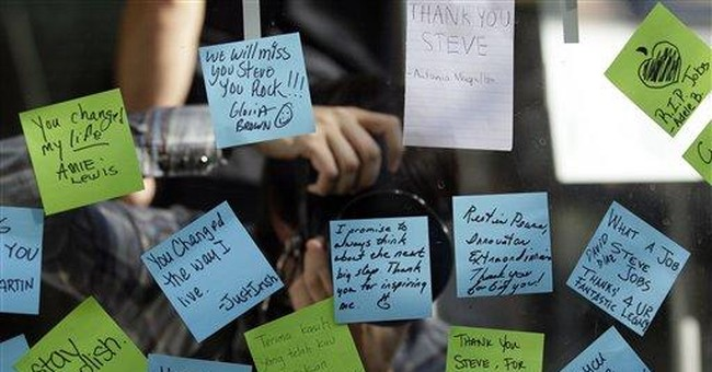Americans recall personal impacts of Jobs' vision