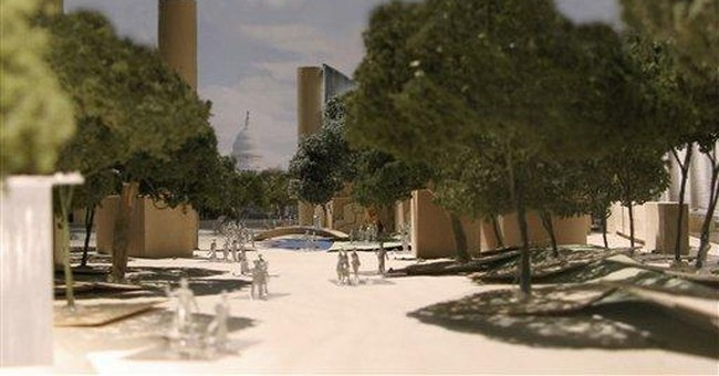 Gehry reveals new details for Eisenhower Memorial