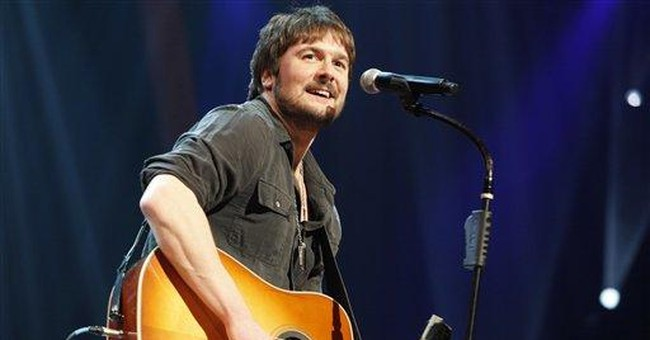 Country singer Eric Church welcomes first child