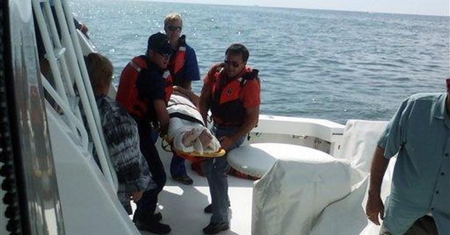 Report: Confusion slowed pilot's Lake Huron rescue