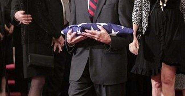 Burial for former archbishop who gave JFK's Eulogy