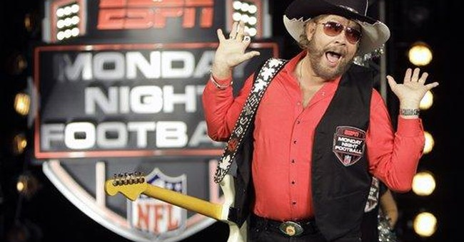 Hank Williams Jr. out on Monday Night Football