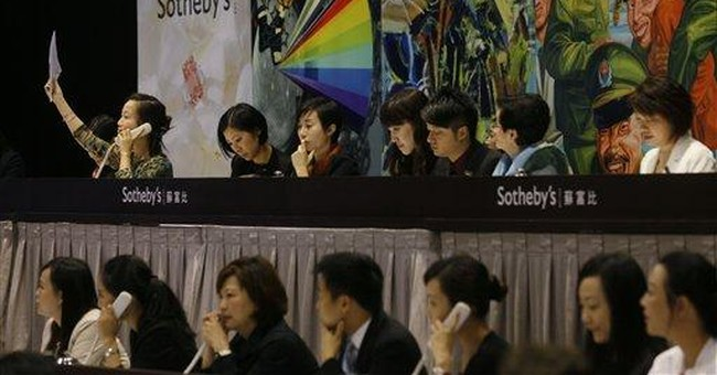 Booming Asian art market shows signs of stalling