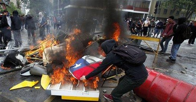 Chile: 250 arrests, unions call nationwide strike