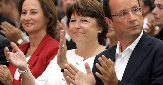 Broken French power couple in political showdown