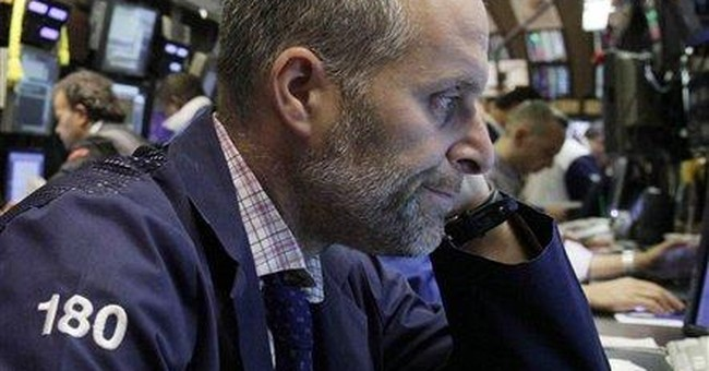 Stocks turn down on mixed jobs, Europe downgrades
