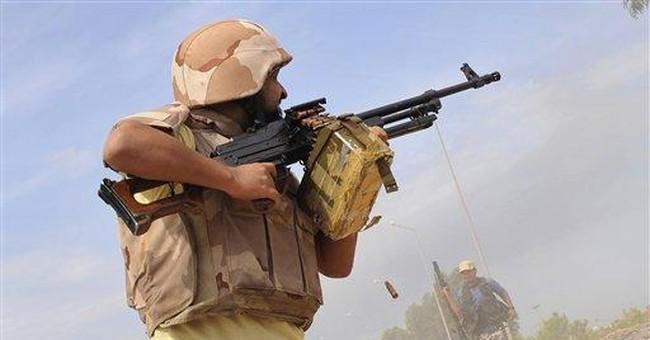 Libyan fighters push deep into Gadhafi's hometown