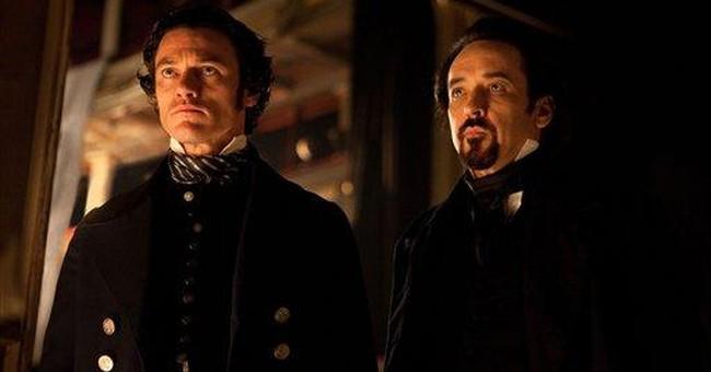 Actor in film 'The Raven' honors Edgar Allan Poe