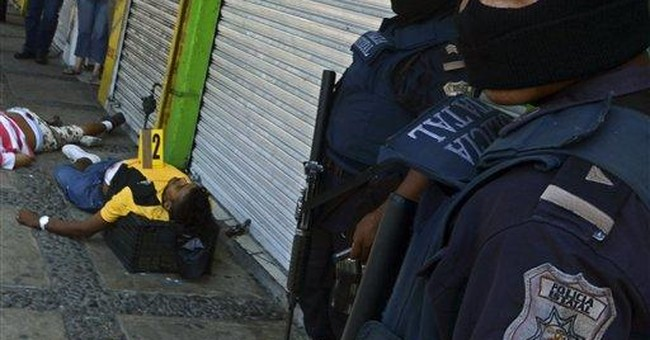 Mexican drug gangs competing for 'cartel cred'