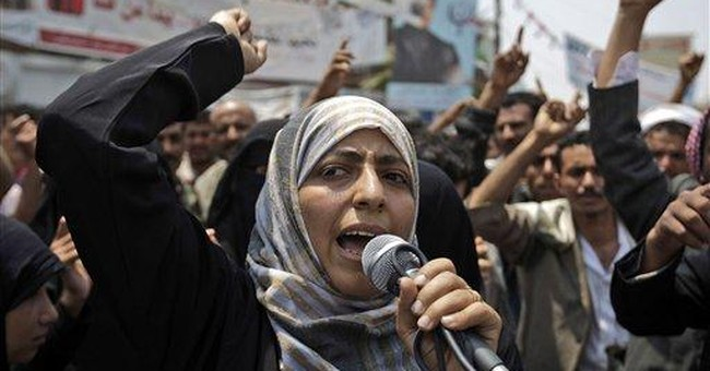Nobel's Karman 'the mother of Yemen's revolution'