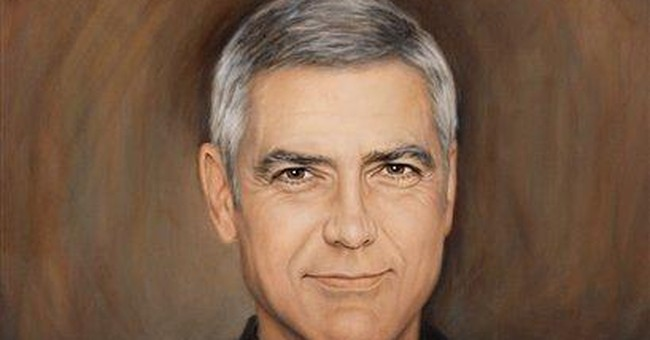 Wisconsin artist paints George Clooney